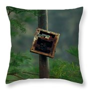 Switches In Switches Throw Pillow