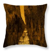 Sword Of Damocles Throw Pillow