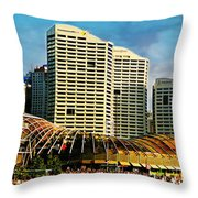 Sydney 4 Throw Pillow