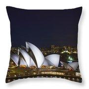 Sydney Opera House In Australia Throw Pillow