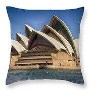 Sydney Opera House V10 Throw Pillow