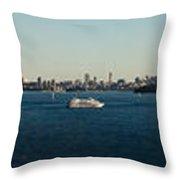 Sydney Panorama Throw Pillow