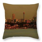 Sydney Sunset Throw Pillow