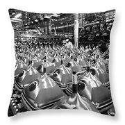 Sylvania Television Tubes Throw Pillow