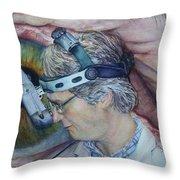Symbiosis Throw Pillow