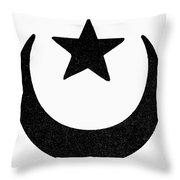 Symbol Islam Throw Pillow
