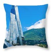 Symbol Of Andorra Throw Pillow
