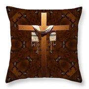 Symbol Of Faith Throw Pillow
