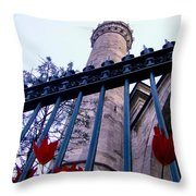 Symbols Of Istanbul Throw Pillow