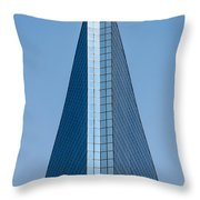Symmetrical Skyscraper Throw Pillow