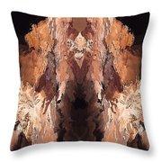 Symmetries - Marucii Throw Pillow