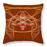 Symmetry Art 2 Throw Pillow