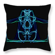 Symmetry Art 3 Throw Pillow