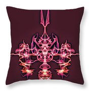 Symmetry Art 4 Throw Pillow