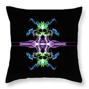Symmetry Art 7 Throw Pillow