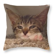 Symphony Keeping Watch Throw Pillow