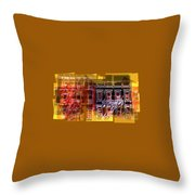 Symphony Of Color Throw Pillow