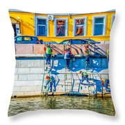 Symphony Of Work Throw Pillow