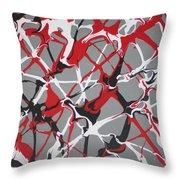 Synapse 3 Throw Pillow
