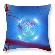 Synapsis Throw Pillow