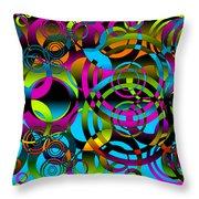 Synchronicity 3 Throw Pillow