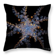 Synchronized  By Jammer Throw Pillow