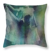Syncopated Lady Throw Pillow