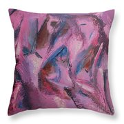 Syncopation 5 Throw Pillow