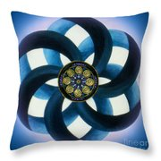 Synergy Mandala 1 Throw Pillow