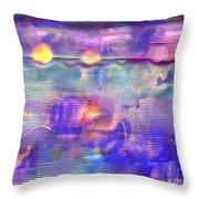 Synesthesia 3 Throw Pillow