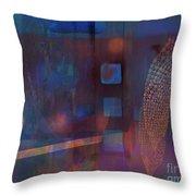 Synthesis 3 Throw Pillow