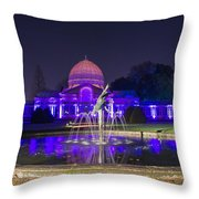 Syon House All Lit Up Throw Pillow