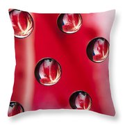 Syrup Flower 1 B Throw Pillow