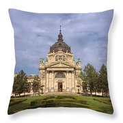 Szechenyi Baths Budapest Hungary Throw Pillow