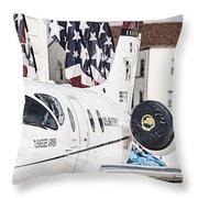 T-1a Jayhawk Throw Pillow