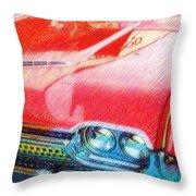 T-bird Dream Throw Pillow
