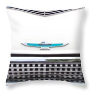 T-bird Hood Throw Pillow