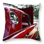 Vintage Car - Opera Window T-bird - Luther Fine Art Throw Pillow