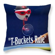 T-buckets Rule Throw Pillow by Jill Reger