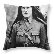 T Throw Pillow