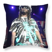 T Pain Throw Pillow