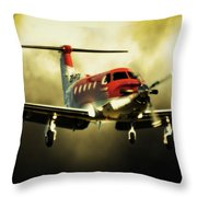 T Tale Throw Pillow