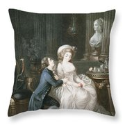 T.2342 Lamant Ecoute, 1775 Throw Pillow