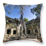 Ta Prohm Throw Pillow