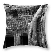 Ta Prohm Roots And Stone 05 Throw Pillow