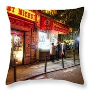 Tabac Saint Michele Throw Pillow