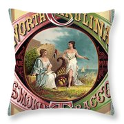 Tabacco Seal Throw Pillow by Gary Grayson
