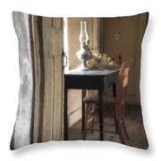 Table At Olsons 2 Throw Pillow