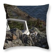 Table For 1  Throw Pillow