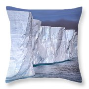 Tabular Iceberg Throw Pillow